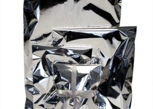 lahjapussi metalli
